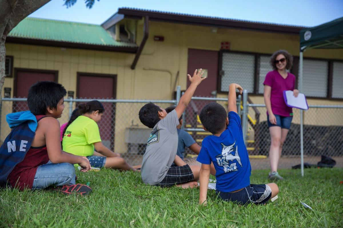 On Mission Calvary Students Say Aloha To Hawaii Local
