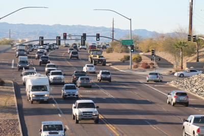 Several sections of State Route 95 in need of pavement repair