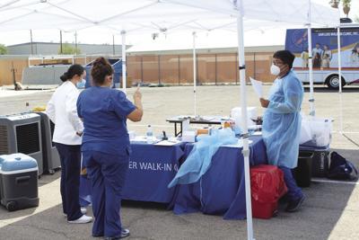 Seen in Havasu: Free testing, vaccinations