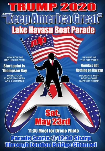 trump boat flyer
