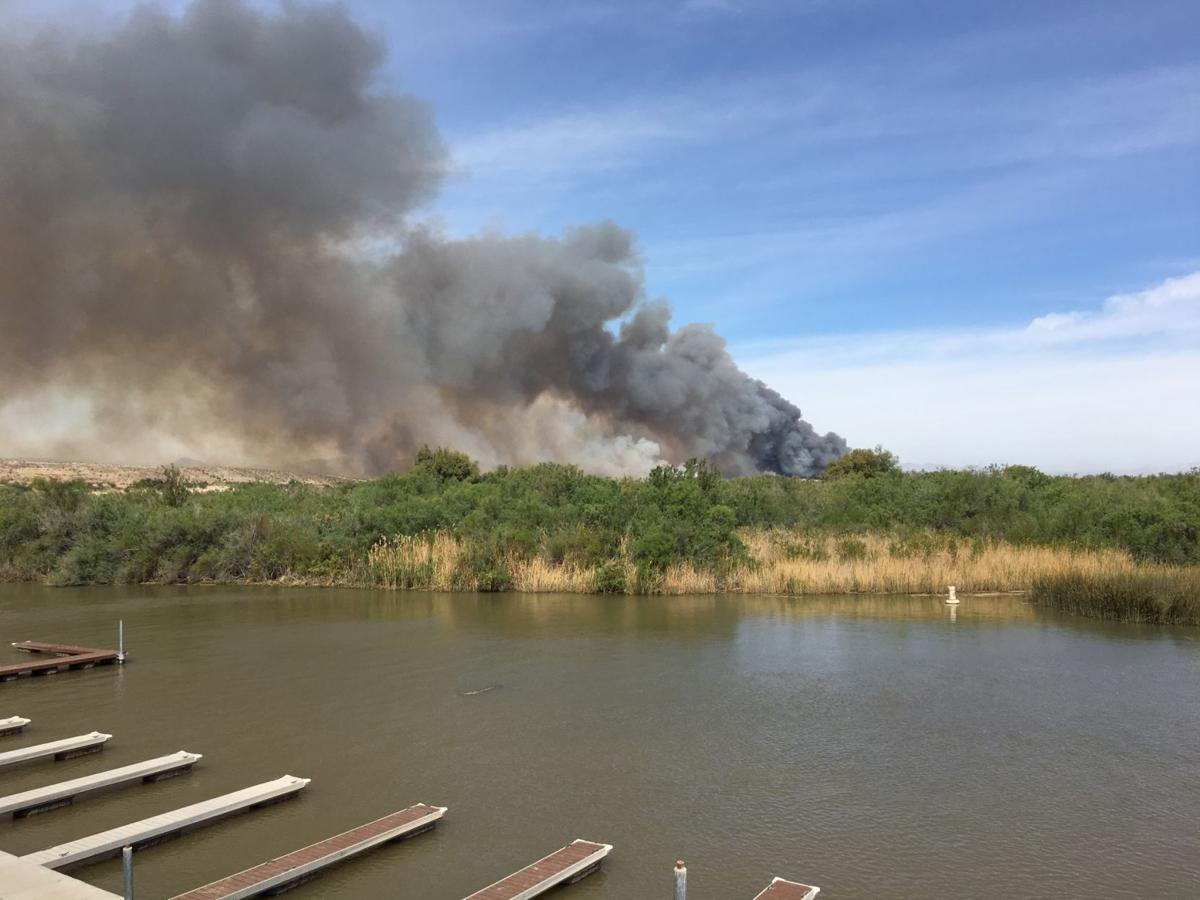 Arizona mohave county topock - Topock Pirate Fire Now 40 Percent Contained Local News Stories Havasunews Com