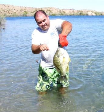 Lake havasu parker strip fishing report local sports for Az game and fish fishing report