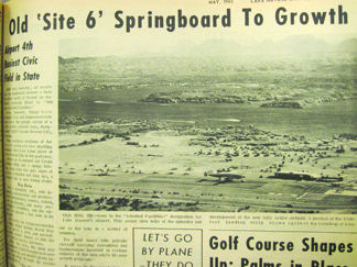 A trip down memory lane: Old 'Site 6' Springboard to Growth