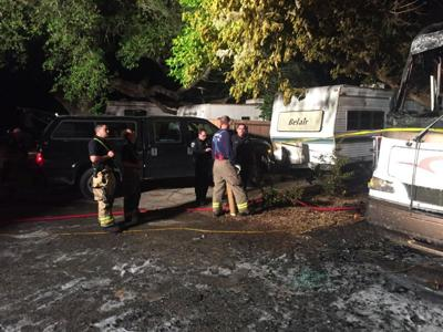 Fire proves fatal in local RV park