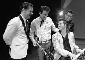"""<p>Playhouse 2000 has two outstanding ideas for your Valentine's Day celebrations, including the February 14th appearance by """"One Night In Memphis"""" in The Cailloux Performances series, featuring music by Jerry Lee Lewis, Carl Perkins, Johnny Cash and Elvis Presley.</p>"""