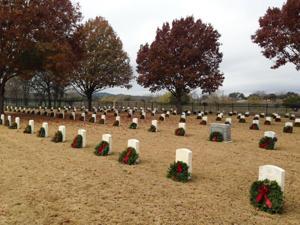 Wreath ceremony honors veterans