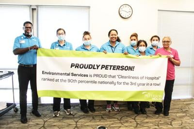 'Proudly Peterson:' PRMC ranks in top 10 percent