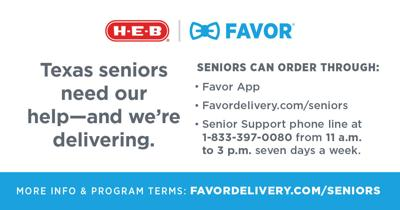 H-E-B, Favor hiring 20-30 for senior citizen grocery delivery service
