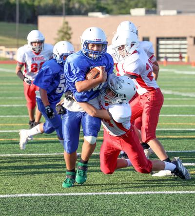 Spikes eighth graders sweep, seventh splits with Voss
