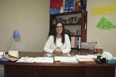 Hillarie Swanner is secondary teacher of the year