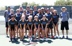 Tivy Tennis claims bi-district title