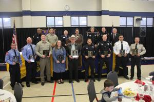 Rotarians honor local first responders