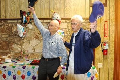Crain surprised by VFW friends with 97th birthday party