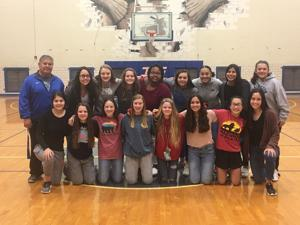 Lady Spikes compete at district tourney, 8B team takes second