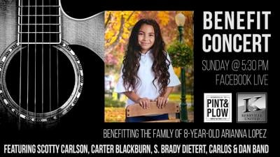 Concert, GoFundMe account organized to assist 8-year-old critically injured in crash