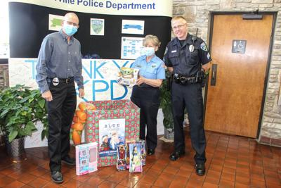 'Blue Santa' project lights up families' Christmas