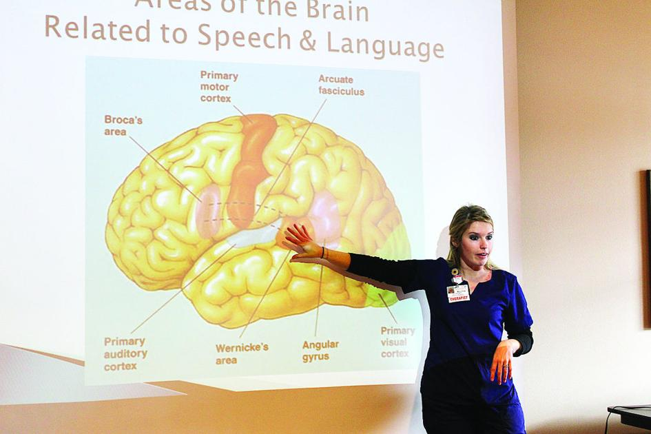 PRMC's speech therapy program aids stroke victims ...