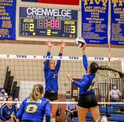 Lady Antlers drop opener, show promise