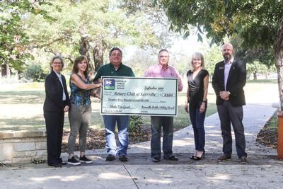 KPUB donates to 'Rotary Grove' memorial project