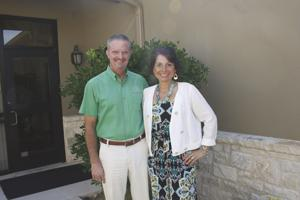 Stephen and Carrie Schmerbeck run  the 'Wine Share'