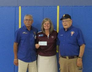OLH receives donation from 'Knights'
