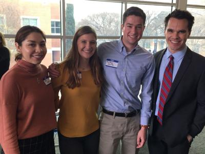 SU students present at 2020 Southwest Fulbright Research Symposium