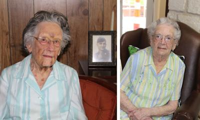 Two local treasures celebrated, turning 103, 100