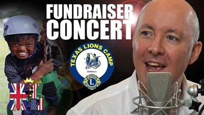 Benefit concert for Texas Lions Camp Aug. 27