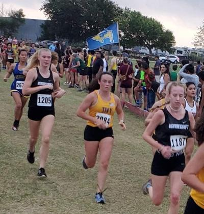 Tivy XC runners medal at Feast meet