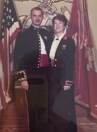 Marsh found satisfaction, husband as Marine