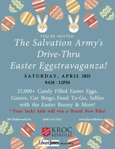 Kroc Center to host Drive-thru Easter Eggstravaganza