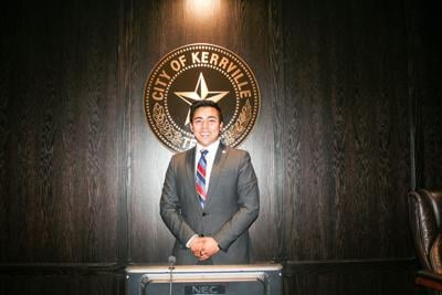 Roman Garcia takes first seat at  City Council