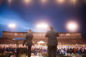 Russo to  deliver 'Powerful Message' Sunday at Antler Stadium