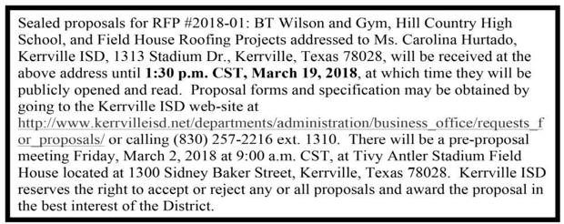 KISD - Request for Proposal