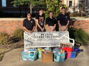 OLH students give back to veterans