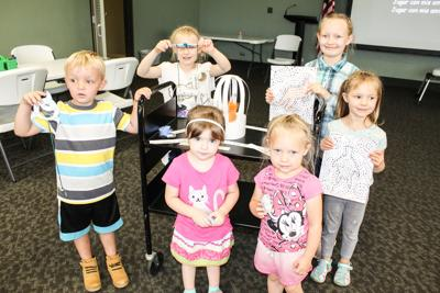Children's summer activities plentiful at library, Cailloux Theater