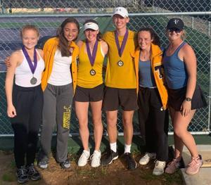 Tivy Tennis takes silver at Mason tourney