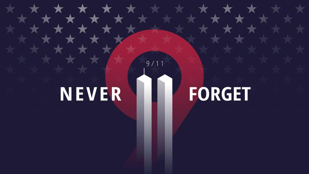Never forget: 20th Anniversary of 9/11