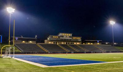 Lights at Antler Stadium on nightly in support, hope