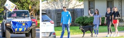 Tivy tennis coach enjoys surprise 'drive by' from his team