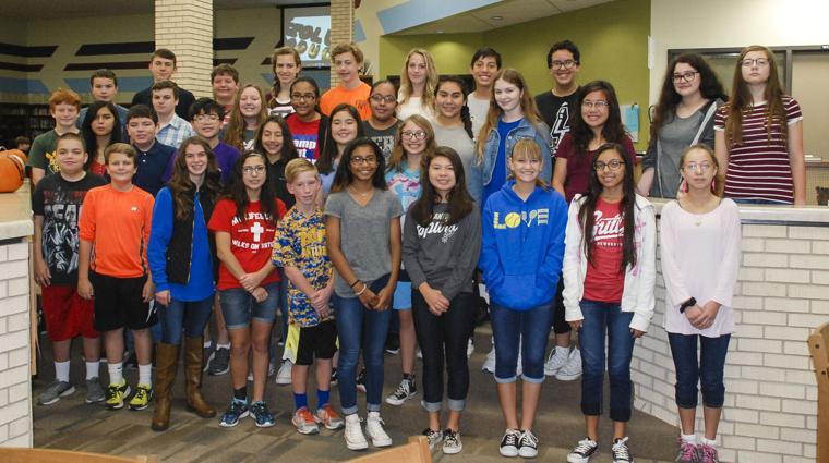 Peterson Middle School band members earn 33 seats in TMEA