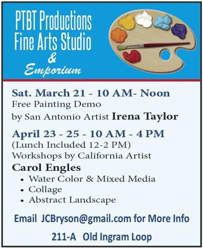 PTBT Productions to host  event Saturday