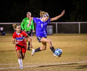 Lady Hawks soccer opens with tie against Antonian