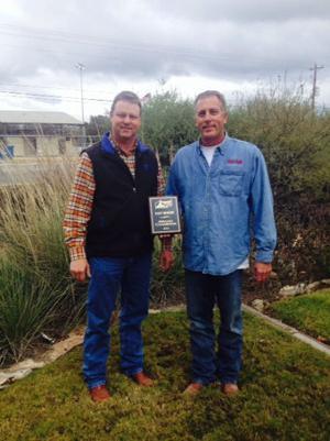 Fritz named top hay grower