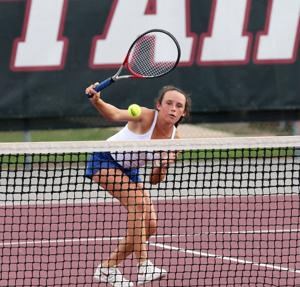 Tivy Tennis suffers first district loss to Champion