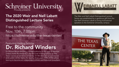 SU lecture series to feature Dr. Richard Winders