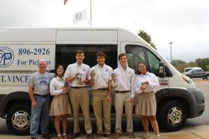 OLH students collect, donate 706 pounds of food