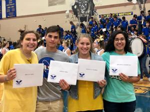 4 Tivy students win 'President's Volunteer Service Awards'