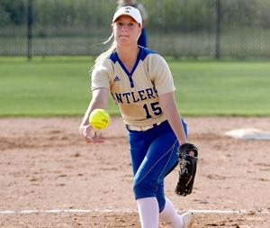 Lady Antlers claim Area title, down Lobos 9-6