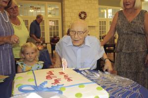 WWII vet celebrates 99th birthday